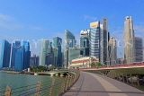 SINGAPORE, Marina Bay, and Singapore skyline, SIN1222PL