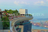 SINGAPORE, Marina Bay Sands Hotel, Infinity Pool, SIN1263JPL