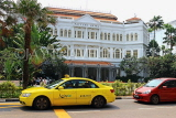 SINGAPORE, Raffles Hotel, and taxi, SIN1350JPL