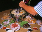 SINGAPORE, traditional Steamboat dinner, SIN111JPL