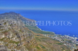 SOUTH AFRICA, Cape Town, coastal view from Table Mountain, SA1341JPL