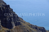 SOUTH AFRICA, Cape Town, view from Table Mountain cable car, SA1336JPL