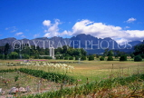 SOUTH AFRICA, Western Cape, Franschoek, Hugenot Monument and gardens, SA1271JPL