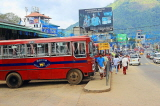 SRI LANKA, Gampola, town centre street, and public bus, SLK4161JPL