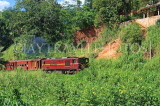 SRI LANKA, Gampola area, train running through countryside, SLK3172JPL