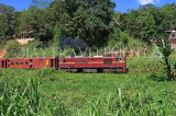 SRI LANKA, Gampola area, train running through countryside, SLK3173JPL