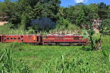 SRI LANKA, Gampola area, train running through countryside, SLK3174JPL
