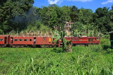 SRI LANKA, Gampola area, train running through countryside, SLK3175JPL