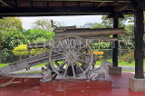 SRI LANKA, Kandy, Raja Wasala Park, Japanese Gun presented by Lord Louis Mountbatten, SLK3766JPL