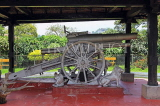 SRI LANKA, Kandy, Raja Wasala Park, Japanese Gun presented by Lord Louis Mountbatten, SLK3767JPL