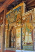 SRI LANKA, Kandy, Temple of the Tooth (Dalada Maligawa), Sri Natha Devalaya, ancient paintings, SLK3382JPL