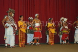 SRI LANKA, Kandy, dance ensemble, dancers, SLK2941JPL