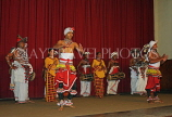 SRI LANKA, Kandy, dance ensemble, dancers performing, SLK2940JPL