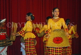 SRI LANKA, Kandy, dance ensemble, harvest dance, SLK2914JPL