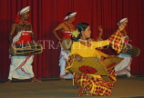 SRI LANKA, Kandy, dance ensemble, harvest dance, SLK2925JPL