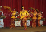 SRI LANKA, Kandy, dance ensemble, harvest dance, SLK2927JPL