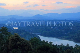 SRI LANKA, Kandy, dawn scenery, hills and Mahaweli River, SLK3644JPL