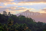 SRI LANKA, Kandy, dawn view over hillside, SLK3142JPL