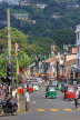 SRI LANKA, Kandy, town centre, street scene, three wheeler taxis, SLK3651JPL