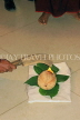 SRI LANKA, Kandy, traditional Kandyan Wedding, auspicious coconut cracking ritual, SLK4062JPL
