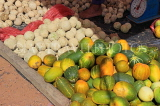 SRI LANKA, Negombo, market, fruit and vegetable market, Wood Apple and Gourds, SLK6204JPL