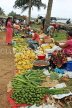 SRI LANKA, Negombo, market, fruit and vegetable market, vendors and shoppers, SLK2679JPL