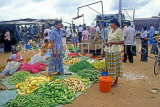 SRI LANKA, Negombo, market, vegetable market scene, SLK1649JPL