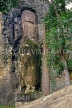 SRI LANKA, hill country, Bandarawela, Dowa Temple, rock carved Buddha (1st cent AD), SLK1988JPL