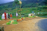 SRI LANKA, hill country, Nuwara Eliya, roadside vegetable stalls, SLK2127JPL