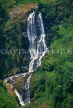 SRI LANKA, hill country, Talawakale, Devon Falls (280ft), SLK1411JPL