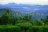 SRI LANKA, hill country scenery, Nuwara Eliya, view from Hakgala Botanical Gardens, SLK319JPL