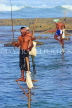SRI LANKA, south coast, Ahangama area, Stilt Fishermen, SLK4773JPL