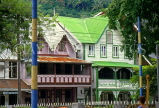 ST LUCIA, Castries, old buildings in Walcott Sq, Rain Restaurant (Chez Paul), STL650JPL