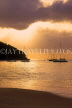 ST LUCIA, Reduit Beach, dusk view and sailboats, STL696JPL