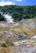 ST LUCIA, Soufriere, Sulphur Hot Springs at drive in volcanic site, STL707JPL