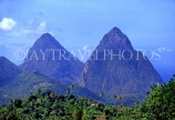 ST LUCIA, The Pitons, STL601JPL