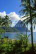 ST LUCIA, The Pitons and coastal view, STL699JPL