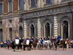 SWEDEN, Stockholm, Old Town (Gamla Stan), Royal Palace, Changing Of The Guard ceremony, SWE129JPL