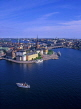 SWEDEN, Stockholm, Old Town (Gamla Stan), view from City Hall, SWE137JPL