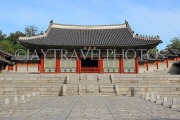 South Korea, SEOUL, Gyeonghuigung Palace, Sungjeongjeon (main hall), SK690JPL