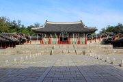 South Korea, SEOUL, Gyeonghuigung Palace, Sungjeongjeon (main hall), SK691JPL