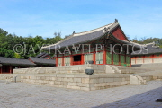South Korea, SEOUL, Gyeonghuigung Palace, Sungjeongjeon (main hall), SK69JPL