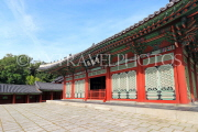 South Korea, SEOUL, Gyeonghuigung Palace, Sungjeongjeon (main hall, throne hall), SK704JPL