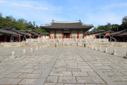 South Korea, SEOUL, Gyeonghuigung Palace, Sungjeongjeon (main hall, throne hall), SK707JPL