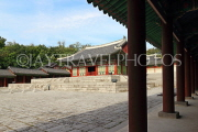 South Korea, SEOUL, Gyeonghuigung Palace, Sungjeongjeon (main hall, throne hall), SK709JPL
