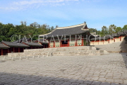 South Korea, SEOUL, Gyeonghuigung Palace, Sungjeongjeon (main hall, throne hall), SK710JPL
