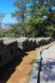 South Korea, SEOUL, Namsan Park, hiking paths, and old fortress wall, SK1247JPL