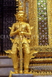 THAILAND, Bangkok, GRAND PALACE (Wat Phra Keo), Demon Guardian figure, THA1797JPL