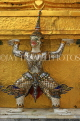 THAILAND, Bangkok, GRAND PALACE (Wat Phra Keo), Demon Guardian figure, THA2476JPL