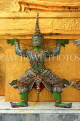 THAILAND, Bangkok, GRAND PALACE (Wat Phra Keo), Demon Guardian figure, THA2477JPL